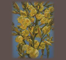 Yucca In Full Bloom by Catherine Kuzma