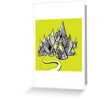 Mountines Greeting Card