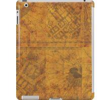 Distressed Maps: Marauders Map Inside iPad Case/Skin