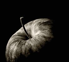 Apple close-up by Guy Jean Genevier