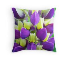 Russell Lupin Throw Pillow