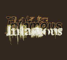 Infamous Tee by BluAlien