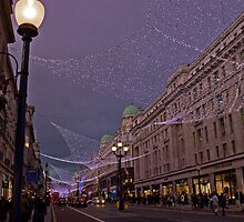 Regent Street Lights by Karen Millard