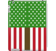"""GREEN PARTY US FLAG"" iPad Case/Skin"