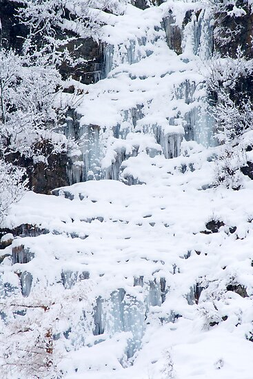 Icefall by Walter Quirtmair