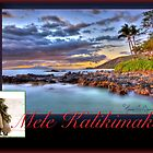 Christmas in Hawai&#x27;i - Mele Kalikimaka Card by Randy Jay Braun