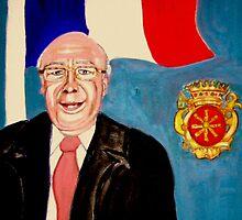 Monsieur Jean Claude Darke. Le Maire de Auchy les Hesdin by Rusty  Gladdish