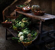 Farm produce.  by Anthony Vella