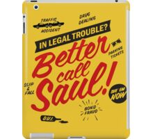 Better Call Saul Breaking Bad  iPad Case/Skin