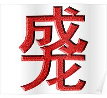 Duang Chinese Character Poster