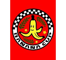 Banana Cup Photographic Print