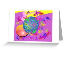 Plum plum Greeting Card