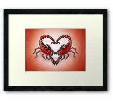 Loving Scorpions Framed Print