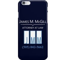 Better call... Jimmy iPhone Case/Skin