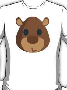 Bear Face EmojiOne Emoji T-Shirt