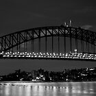 Sydney After Dark - Harbour Bridge by Daniel Pua