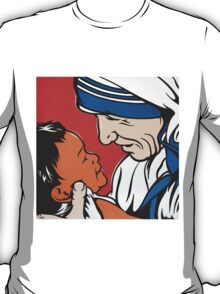 Mother Teresa and Child T-Shirt