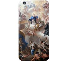 1710-15 de Matteis Triumph of the Immaculate Anagoria Painting Photograph iPhone Case/Skin