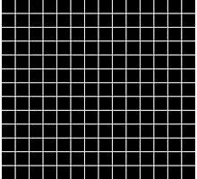 black grid minimalist design Photographic Print