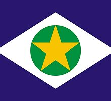 Flag of Brazilian State of Mato Grosso by abbeyz71