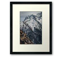 NEPAL:TREK Framed Print