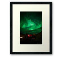 ICELAND:NORTHERN LIGHTS Framed Print
