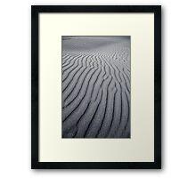 NEW ZEALAND:WAVES OF SAND Framed Print