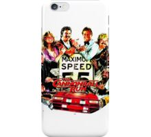Cannon Ball Run Too iPhone Case/Skin