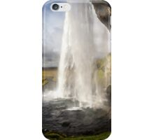 ICELAND:THE WATERFALL AND THE RAINBOW iPhone Case/Skin
