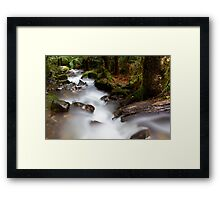 Cement Creek Framed Print