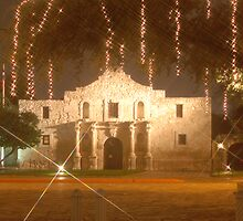 Alamo at Christmas by Michael Collazo