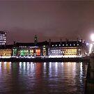 Panorama London by Arie van der Wijst