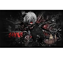 Tokyo ghoul - pillows, mugs, laptop skins ect... Photographic Print