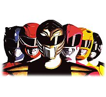 Mighty Morphin Power Rangers Photographic Print