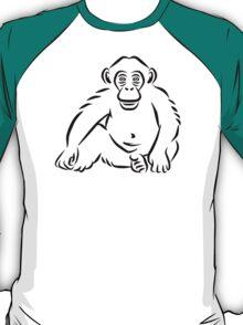 Monkey chimpanzee T-Shirt