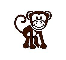 Comic monkey Photographic Print
