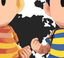 Ness and Lucas Sticker