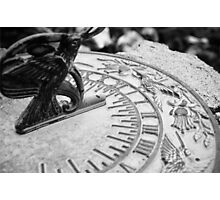 Time Clock Photographic Print
