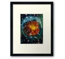 By the Light of Fireflies Framed Print