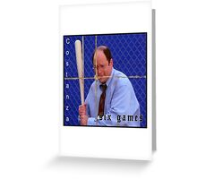 Exmilitary Costanza Greeting Card