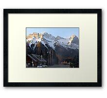 Windbreak! Framed Print