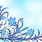 Blue lilyes   by mari8008