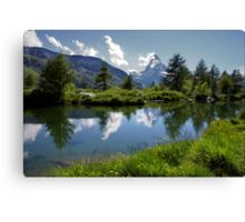 Matterhorn Reflections Canvas Print