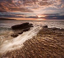 Hallett Cove Sunset by KathyT