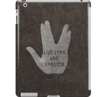 Live Long & Lobster iPad Case/Skin