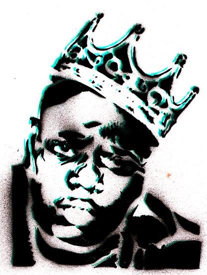 biggie smalls crown stencil - photo #9