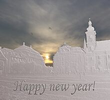 Happy new year from Sibiu  by Adrian Bud