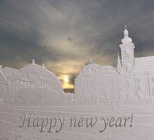 Happy new year from Sibiu  by Adrian Bud