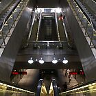 Kopenhagen subway station (3)  by PeterBusser