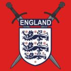 The Crest of England by block33